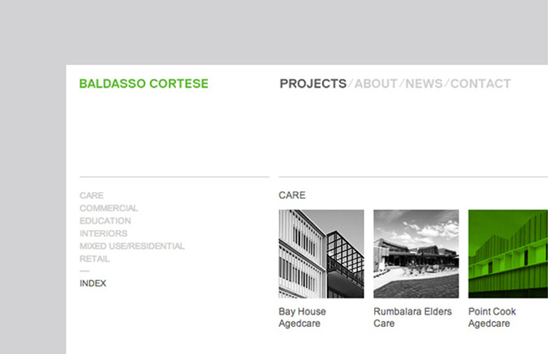 Baldasso Cortese Website